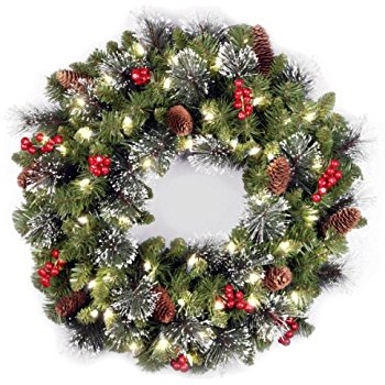 Christmas berry wreaths